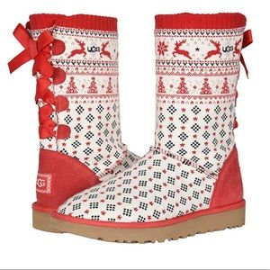 UGG & Zappos 20th x Holiday Sweater Boot 7